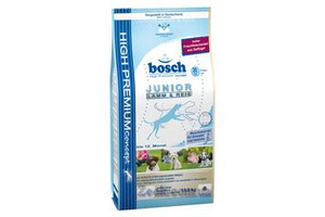 BOSCH Junior Lamb & Rice корм для собак